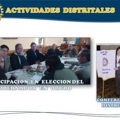 Actividades Distritales
