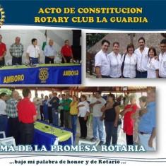 Acto de Constitucion - Rotary Club La Guardia