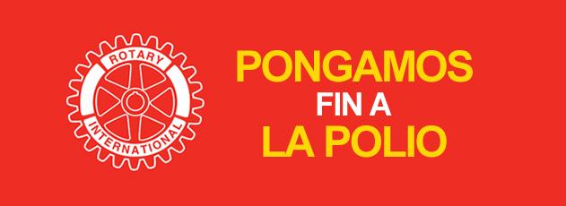 PONGAMOS FIN A LA POLIO - El programa insignia del Rotary Internacional. Averigue como puede ayudarnos a erradicar el Polio! Averigue mas aqui.